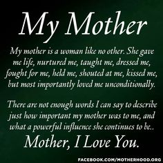 55 best sayings for moms images on pinterest mothers love