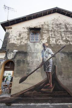 Streetart in Georgetown, Penang, Malaysia