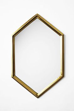 "30+ Cheap Home Scores — & How To Style Them! #refinery29  http://www.refinery29.com/design-bloggers-cheap-decor-picks#slide-2   ""Hexagon shapes are having a huge moment, and I love this new take on it,"" says Chan. ""Polish up your space in the entryway, powder room, vanity, or your bedside. Another great idea is to style it together with an art gallery  wall."" ..."