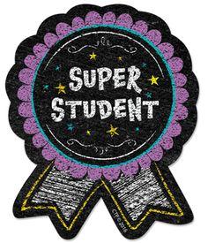 Chalk It Up! Super Student Badge