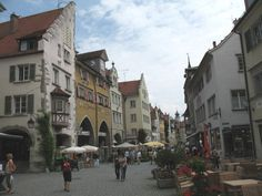 Lindau, Germany. Great place to visit in the summer!