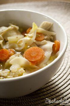Chicken Noodle Soup - Bakerlady