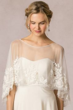 Ophelia Capelet - by Jenny Yoo -- goes over any gown