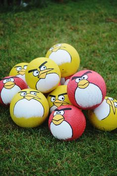 "Happy ""Angry Bird""day To You Party ideas"