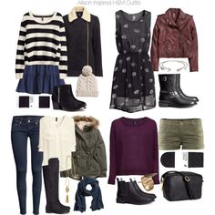 """""""Allison Inspired H&M Outfits"""" by veterization on Polyvore"""