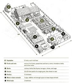farm design Southern Living is part of - Last fall April and I wanted to start getting our hands dirty, mud caked fingernails, sweaty foreheads, outdoor punishment We have always Homestead Layout, Homestead Farm, Homestead Gardens, Farm Gardens, Off Grid, Farm Layout, Farm Plans, Mini Farm, Backyard Farming
