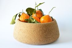 We love this little composition using Melanie Abrantes cork bowl.