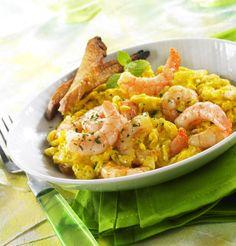 A veces un plato de fácil preparación puede convertirse en un gran manjar, es el caso de este delicioso revuelto, con el que poder sucumbir a cualquier paladar.   Ingredientes   C