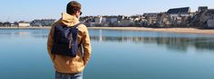 Backpack #Merc http://www.letagehomme.com/sac-a-dos-bleu-marine-backpack-sapelo.html