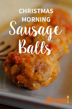 Sausage Balls - - These are so yummy! My family makes every Christmas morning. Best Sausage Ball Recipe, Sausage Recipes, Cooking Recipes, Cooking Tips, Casserole Recipes, Bread Recipes, Yummy Recipes, Sausage Breakfast, Best Breakfast