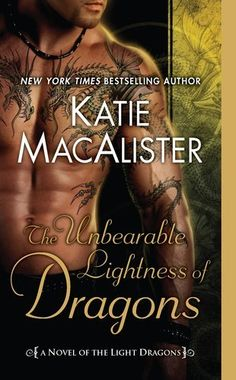 This book is almost as hot as the cover!!! ;o) The Unbearable Lightness of Dragons: A Novel of the Light Dragons by Katie MacAlister, http://www.amazon.com/dp/0451233441/ref=cm_sw_r_pi_dp_zVJMpb0413EAA