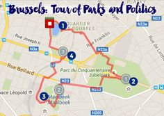 Map #2: Self-Guided Walking Tour of Brussels, Belgium | Intentional Travelers