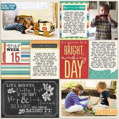 Pocket Life: May Collection by Traci Reed, 365Unscripted: Plastic Stitched Grids Bundle by Traci Reed