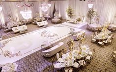 Luxe Wedding of NFL Player Tahir Whitehead at Elegant Castle Venue - Inside Weddings Luxe Wedding, Wedding Trends, Wedding Designs, Wedding Ideas, Wedding Backdrops, Gold Wedding, Reception Table, Reception Decorations, Wedding Table