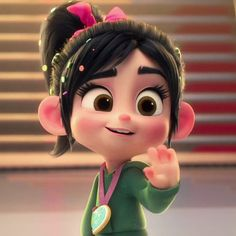 My baby waving good bye to Ralph 😭 Cute Cartoon Pictures, Cute Cartoon Girl, Cartoon Profile Pictures, Cartoon Pics, Cute Disney Characters, Girl Cartoon Characters, Disney Icons, Disney Pixar, Cute Walpaper