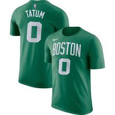 5f733f477 Nike Men s Boston Celtics Jayson Tatum  0 Dri-FIT Kelly Green T-Shirt