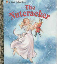 Vintage 1991 The Nutcracker Little Golden Book Classic Christmas Story for sale online Old Children's Books, Vintage Children's Books, My Books, Story Books, Vintage Kids, Library Books, Vintage Stuff, Dance Books, Christmas Books