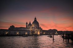 Venezia; dicembre 2016 Basilica di Santa Maria.