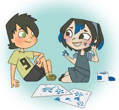 Trent my good friend+and+Gwen my big sister+as+kids+by+kikaigaku.deviantart.com+on+@deviantART