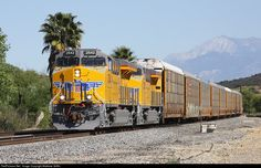 RailPictures.Net Photo: UP 2542 Union Pacific GE ES44AC at El Casco, California by Matthew Griffin
