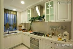 kitchen cabinet renovation renderings european style effect picture