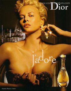 Nouvelle pub parfum J adore de Dior pub parfums
