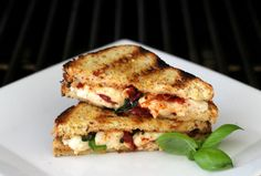 Foodie Friday: Caprese Grilled Cheese {Gluten Free} | The Fit Foodie Mama