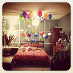 Birthday Surprise for the Boyfriend :)