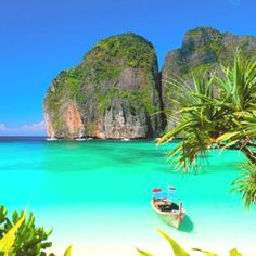 Thailand, sooo beautiful! I'd love to see my BIL & new SIL there. <3