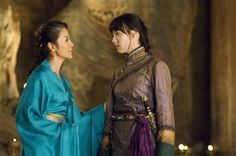 Lin (Isabella Leong) in the Mummy: Tomb of the Dragon Emperor - bangs