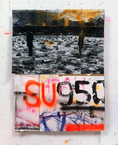 Hermann Josef Hack, SU950, 140520, mixed media on paper, 2014
