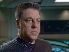 Captain Braxton from the Time Ship Relativity - Star Trek Voyager