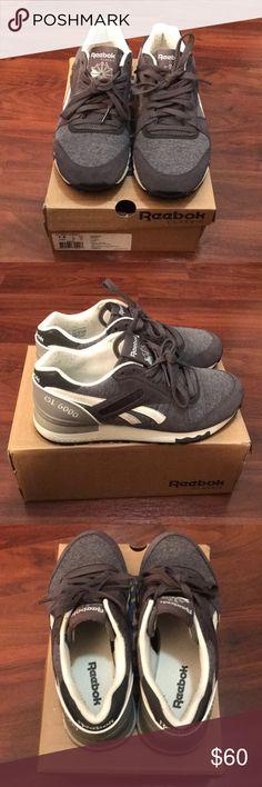 7b1ad43f4f72 Reebok GL 6000 Jersey Lightly worn grey woman Reebok's Reebok Shoes Sneakers