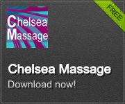 Chelsea Massage has an App. Quick way to call Chelsea Massage Clinic FREE to download
