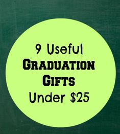 Need graduation gifts will leave some cash in your wallet and be of practical use to the graduate long past graduation day. Here are 9 Practical, Well-Received Graduation Gifts Under $25 to grab today.