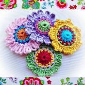 Set of Quick Flowers Crochet Patterns - via @Craftsy