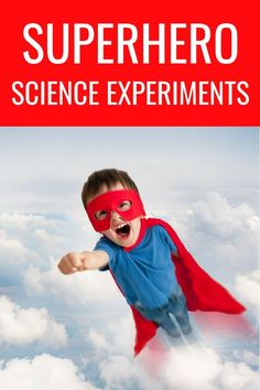 Superhero Science Activities: Test Your Powers! Learn the truth about how superhero powers work with these amazing superhero science activities that test your powers! Super Hero Activities, Science Activities For Kids, Preschool Science, Science Experiments Kids, Toddler Preschool, Science Classroom, Holiday Activities, Super Hero Crafts, Science Fun