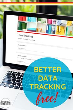 Quick, actionable steps you can take today for better data collection! Join this free email series and receive goal tracking data sheets (print and digital).