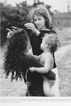 Allan Arbus photograph of Diane Arbus with daughters Doon and Amy ...