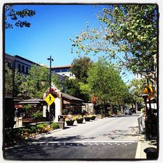 The weather is wonderful today at Santana Row! 4/27/12