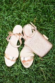 Loeffler Randall rose gold sandals