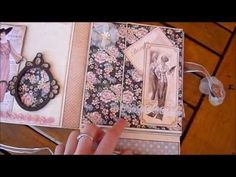 ▶ A Ladies Diary Mini Album Insert - YouTube - stunning