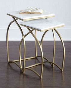 Bexley Nesting Tables at Neiman Marcus.