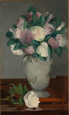 Edouard Manet, Peonies, 1864-5