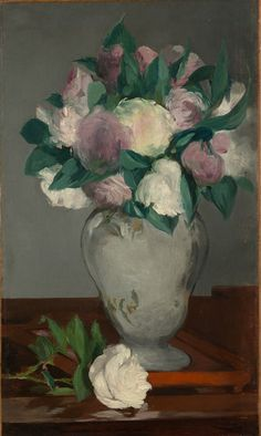 Edouard Manet, Peonies, 1864-5, Metropolitan Museum of Art