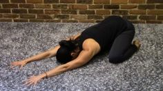 BALASANA: Have you ever seen a newborn all curled up? A little body resting over little knees with sweet, little arms tucked under a tiny chest… eyes closed and face...