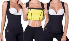 Hot Shapers Waist-Trimmer Slimming Shirt