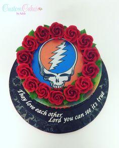 Grateful Dead groom's cake