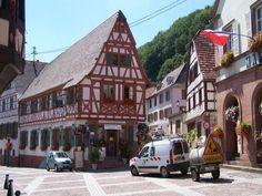 Oberbronn: Rue Principale - France-Voyage.com