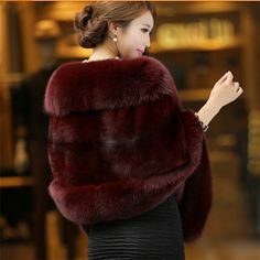 New Fashion Charming Womens Elegant Noble Imitation Mink Bridal Wedding Faux Fur Long Shawl Stole Wrap Shrug Scarf